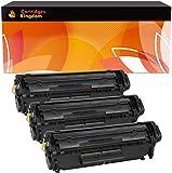 3 Compatibles Cartouches de Toner Laser pour Canon FX10 I-Sensys MF-4010 MF-4100 MF-4120 MF-4140 MF-4150 MF-4320D MF-4330D MF-4350D MF-4370DN Fax L95 L100 L120 L140 L160 Laserbase PC-D440 PC-D450