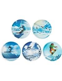 Ergobag Accessoires Klettbilder-Set 5-tlg Kletties Wintersport 037 wintersport