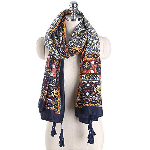 100% Quality F&u 6 Colors Fashion Women Leopard Print Scarf Long Soft Wrap Ladies Polyester Scarves Luxury Shawl Warm In Winter Fine Workmanship Apparel Accessories
