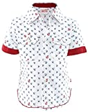 Fs Mini Klub Boys' Regular Fit Cotton Shirt (88Ebtsh0565 W_7-18 - 24 Months, White, 18 - 24 Months)