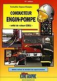Conducteur engin-pompe - Unité de valeur COD1