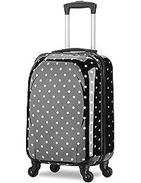 Valise cabine 55cm bagage a main femme enfant avions low cost 4 roues Papillon l¨¦ger 40 L