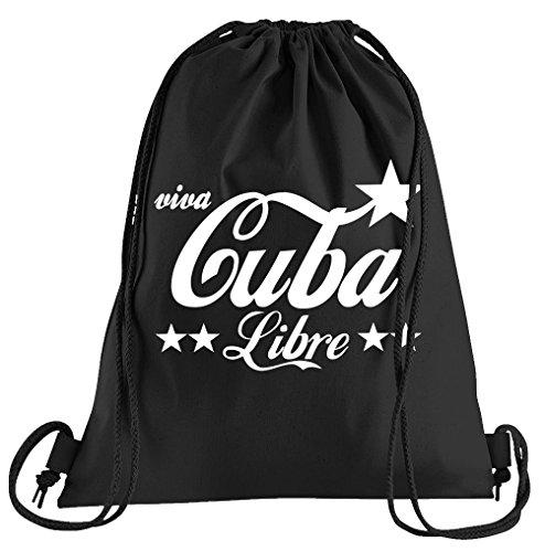 T-Shirt People Cuba Libre Sportbeutel - Bedruckter Beutel - Eine schöne Sport-Tasche Beutel mit Kordeln