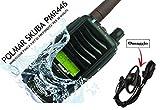 POLMAR SKUBA PMR446 UHF PORTATILE VERSIONE EXPORT 5 WATT IMPERMEABILE IP-68 IMMERSIONE FINO A 1 MT DI PROFONDITA' PER 30 MINUTI - HA SUPERATO I SEVERI TEST MIL-STD-810-C, D, E & F, PER LA RESISTENZA AGLI URTI E A CONDIZIONI AMBIENTALI PARTICOLARI