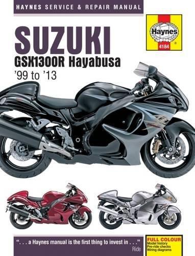 Suzuki GSX1300R Hayabusa (99 - 13) (Haynes Service & Repair Manual)
