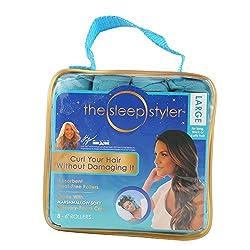 Yiding Hair Curlers 8PCS Nighttime Heat-free Long Hair Rollers DIY Curls Styling Kit