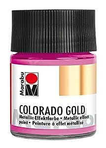 Marabu 12640005733Efecto Color, Metálico de Color Rosa
