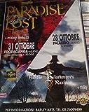 Paradise Lost + Misery Loves Co Milano Propaganda 31/10, Ritchie Blackmore's Rainbow + Milky Milano Palalido 28/10 Poster