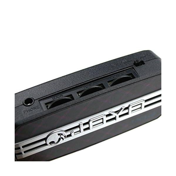 Joyo JA-03 - Amplificatore tascabile per chitarra, sonorità acustiche, con uscita in cuffia