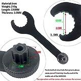 Llave de eje de pedalier para bicicleta de montaña, herramienta de instalación para pedalier Shimano Hollowtech II