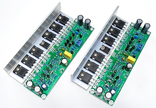 Q-BAIHE L15 FET Leistungsverstärker mit Winkelwinkel, Aluminium - Dual-aluminium-kanal