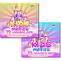 Vocal-Star Kids Movies Karaoke Disc set 6 CDG CD+G Discs Including 140 Songs ( 70 With Lead Vocals ) From Popular Disney Films
