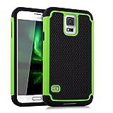 kwmobile Samsung Galaxy S5 / S5 Neo Hülle - Hybrid Handy Cover Case Schutzhülle - Handyhülle für Samsung Galaxy S5 / S5 Neo