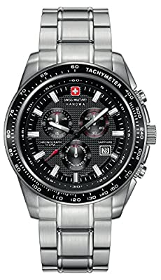 INTELIHANCE. 6-5225.04.007 - Reloj de cuarzo para hombre, con correa de acero inoxidable, color plateado de INTELIHANCE.