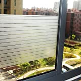 Lifetree 128 zelfklevende raamfolie zonder lijm 2D statische folie privacy film 45 * 200cm