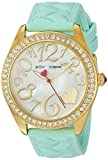 Best Johnson Watches - Betsey Johnson Women's Quartz Metal and Silicone Casual Review