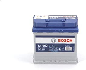 BOSCH S4 002 Batteria Silver 12V 470A (EN) 52 Ah