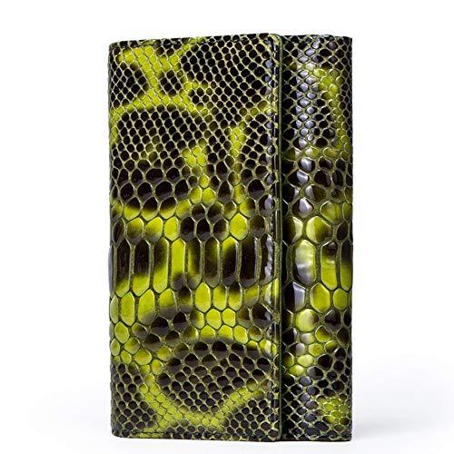 Preisvergleich Produktbild LCDY Damenbrieftasche Erste Schicht Aus Dreifach Gefaltetem Rindsleder Lässige Geprägte Brieftasche Mit Clutch Multifunktions-Lederclip-Telefongeldbeutel,Green,14.5 * 3 * 10cm