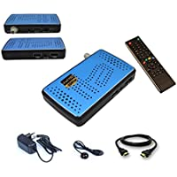 Mini ricevitore satellitare digitale HD con 2x USB + Ricezione IR occhio