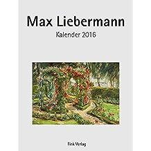 Max Liebermann: Kunst-Einsteckkalender 2016