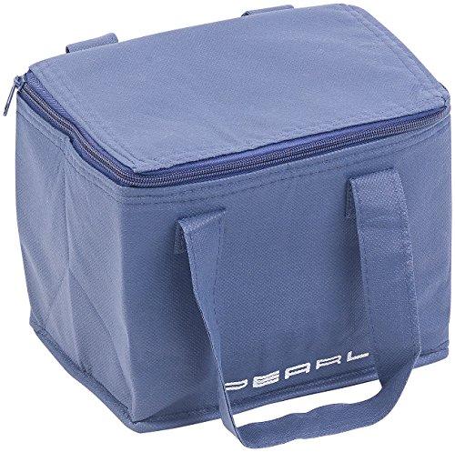 PEARL Unisex- Erwachsene NX-7543 Kleine Isolierte Mini-Kühltasche mit 2 Tragegurten, 6 Liter (Minikühltaschen), 1 (Fach Brot Kunststoff)