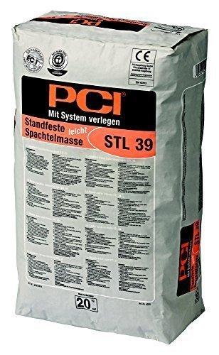 PCI STL 39 STANDFESTE SPACHTELMASSE LEICHT 20kg