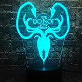 3d   Nachtlichter   Hallordon Lichter   Kinder   kreativ   geschenk   standbild   Atmosphäre leuchtet   Verfärbung   Kaufen Sie jetzt die kostenlose Fernbedienung   ASHCU535