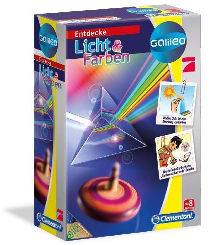 Clementoni 69317.7 - Galileo Gioco di Esperimenti Luce e Colori