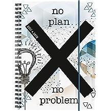 Brunnen 1072985078 Schülerkalender No Problem (1 Woche in 2 Seiten, August 2017 bis Juli 2018)