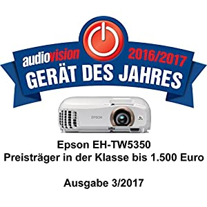 Epson EH-TW5350 LCD Projektor (Full HD, 1920 x 1080 Pixel