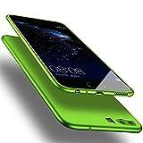 Huawei P10 Hülle, X-level [Guadian Serie] Soft Flex Silikon [Grün] Premium TPU Echtes...