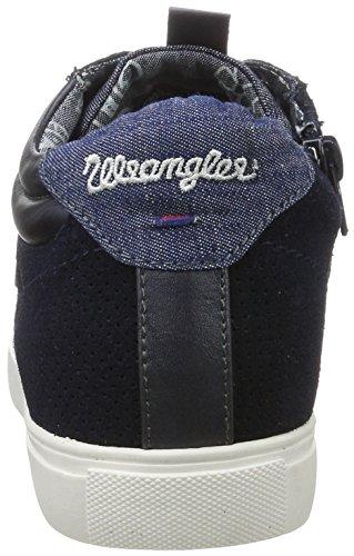 Wrangler - Ivy Punch Mid, Scarpe da ginnastica Donna blu (navy)