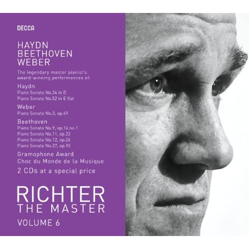 Richter plays Haydn/Weber/Beethoven (2 CDs)
