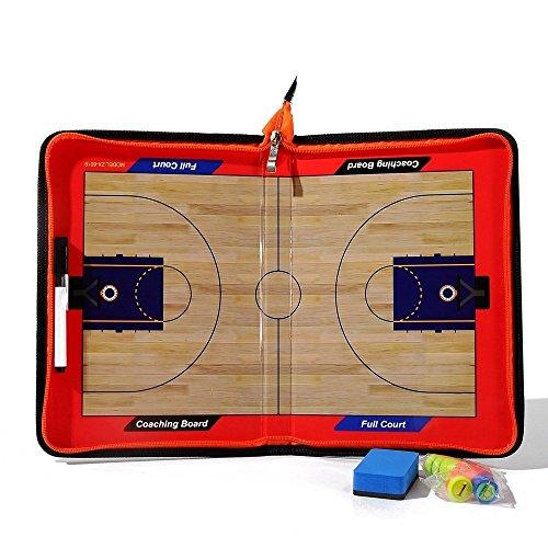 Firelong Basketball-Taktikbrett, magnetisch, Taktik, Strategie (Basketball Coaching-board)