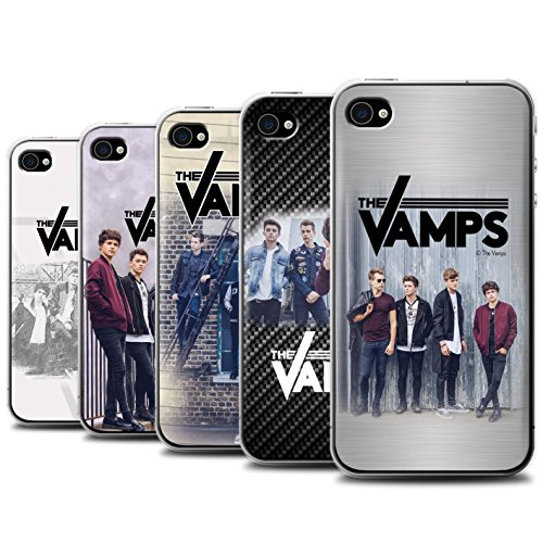 Offiziell The Vamps Hülle / Case für Apple iPhone 4/4S / Pack 6pcs Muster / The Vamps Fotoshoot Kollektion Pack 6pcs