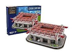 Idea Regalo - Giochi Preziosi - Nanostad Puzzle 3D Stadio, San Siro Inter