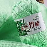 Generic A5 : 1Pc New Hot Selling Soft Bamboo Crochet Cotton 50g Knitting Yarn Baby Knit Wool Yarn