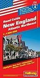 Hallwag USA Road Guide, No.4, New England - Rand McNally and Company