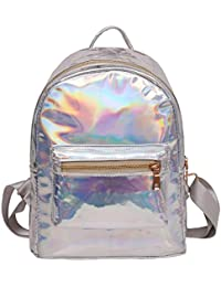 a03adc6ab9e0 Amazon.co.uk  Silver - Children s Backpacks   Backpacks  Luggage