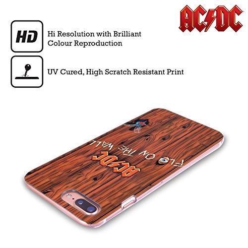 Ufficiale AC/DC ACDC Back In Black Copertina Album Cover Retro Rigida per Apple iPhone X Flo On The Wall