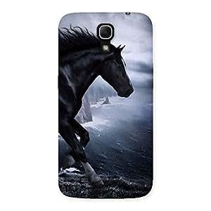 Premier Black Horse Back Case Cover for Galaxy Mega 6.3
