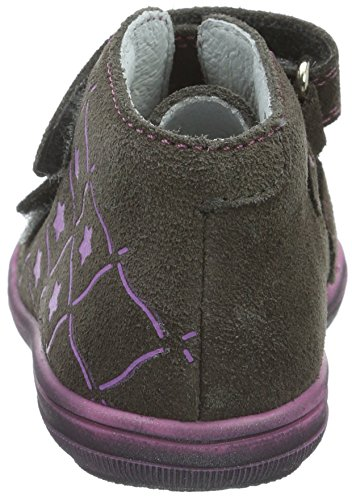 Richter Kinderschuhe Dandi S, Baskets Basses Fille Gris - Grau (pebble 6610)