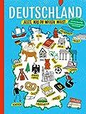 Deutschland: Alles, was du wissen willst. Allgemeinwissen für Kinder - Friederike Bieber, Sebastian Brauns, Anika Kreller, Christa Roth, Sebastian Schneider, Christine Stahr