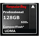 Komputerbay 128GB Professionelle Compact Flash Card CF 600X 90MB/s Extreme Speed ​​UDMA 6 RAW 128 GB