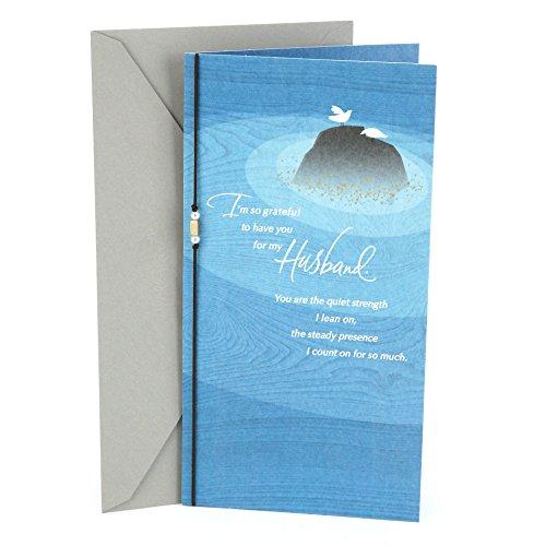 Hallmark Birthday Greeting Card for Husband (Doves on Rock)