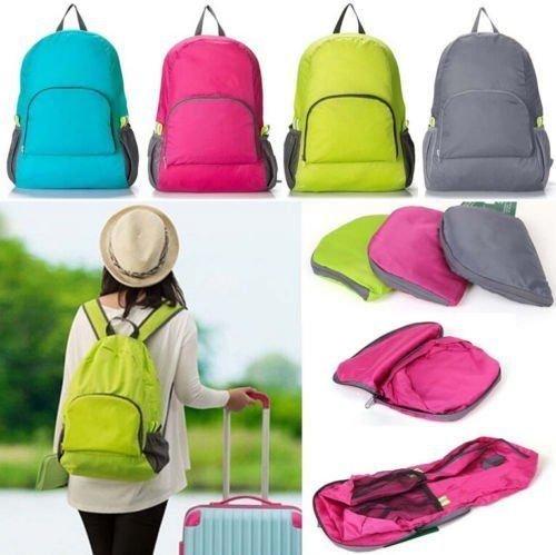 Multi functional Foldable Travel Luggage Kit Bag (Pink)