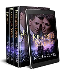 Kindred (Books 1 - 3) Book Bundle: A Paranormal Romance Vampire Hunter Series