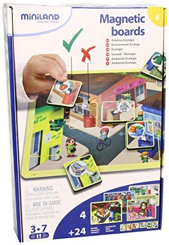 Miniland - Magnetic boards: Entorno y ecología (31953)