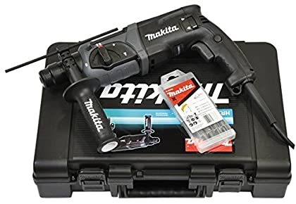 Makita HR2470BX40 780W 1100RPM SDS Plus rotary hammers - Martillo perforador (SDS Plus, 2,4 cm, 1100 RPM, 2,4 J, 4500 ppm, 1,3 cm)
