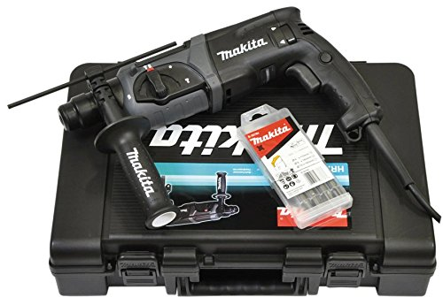 Makita HR2470BX40 rotary hammers SDS Plus 1100 RPM 780 W - Martillo perforador (SDS Plus, 2,4 cm, 1100 RPM, 2,4 J, 4500 ppm, 1,3 cm)